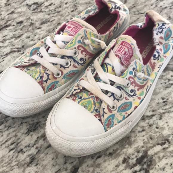 Converse Shoes - Converse shoreline all stars paisley print size 9 7a0e9d3aa
